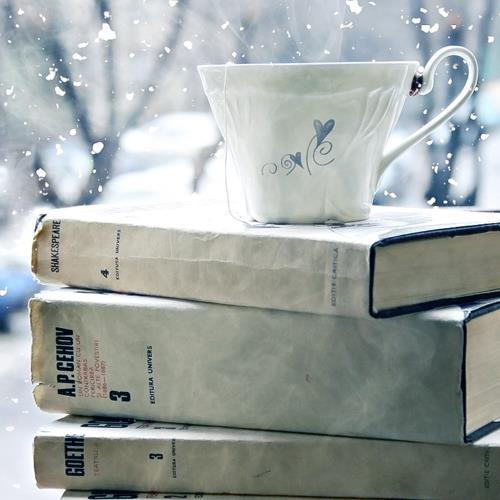 Snuggle up with an espresso and a textbook