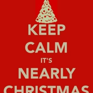 Keep calm it´s nearly Christmas