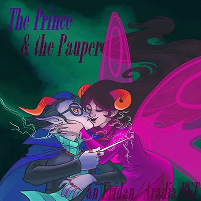 ♒the prince and the pauper♈ an eridan/aradia fanmix