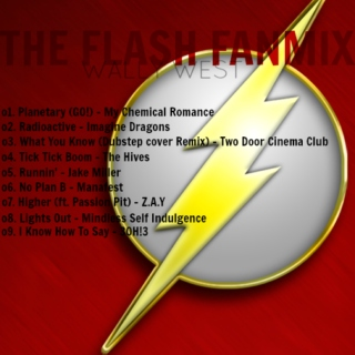 the flash fanmix [wally west]