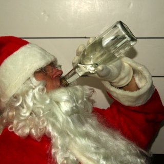 Christmas Eve in the Drunk Tank