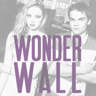 you're my wonderwall.