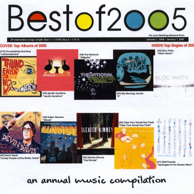 Malted Music's Best of 2005
