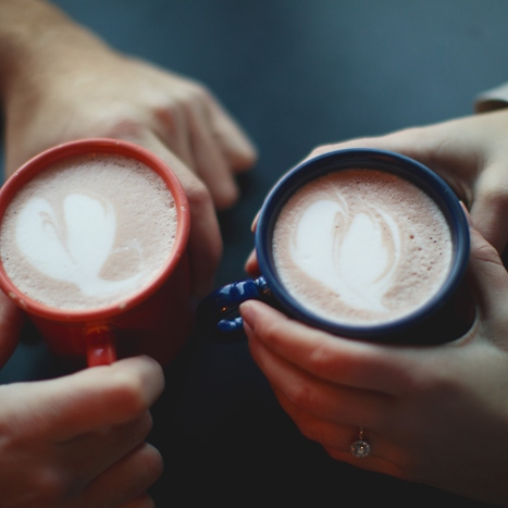 i spoon you into my coffee cup