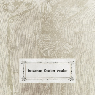 Boisterous October Weather