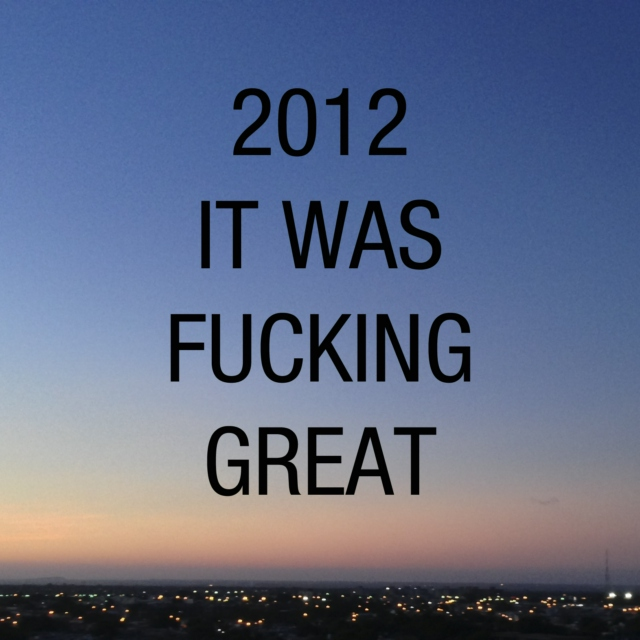 Awesome 2012