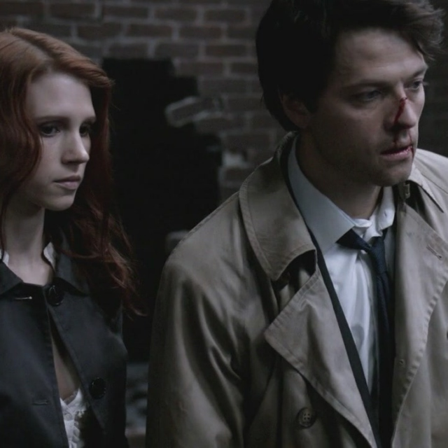 I'm Sorry I Pushed Your Hand Away: A Castiel/Anna Milton Mix