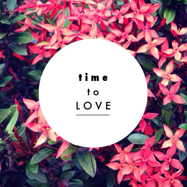 time to love!