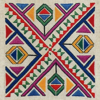 Balkan embroideries