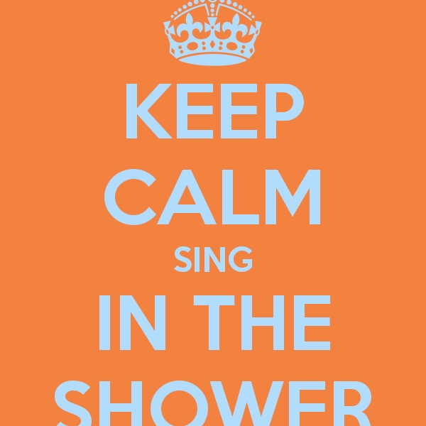 there were some happy showers hahaha!!!