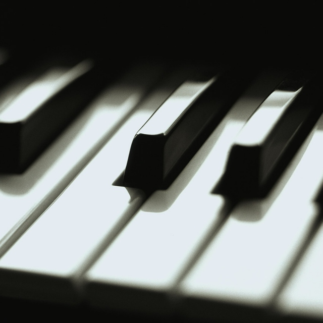 Music of black & white keys