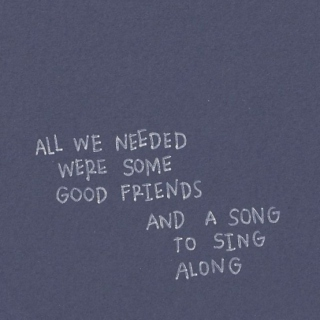 a song to sing along.