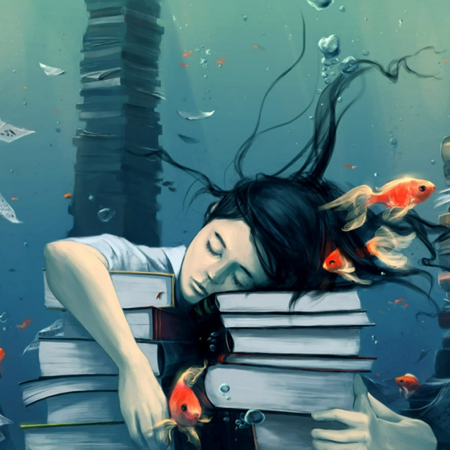 Drowning In This Sea Of Books