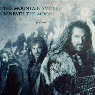 the mountain smoked beneath the moon