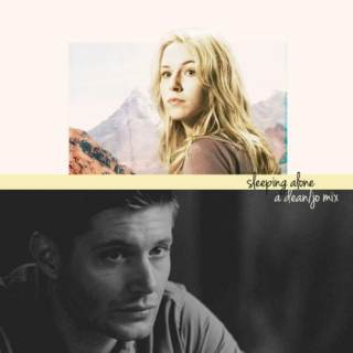 sleeping alone (dean/jo)