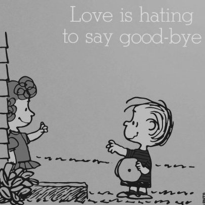 love is hating to say goodbye #1