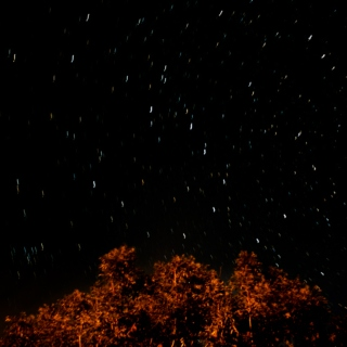 Watching stars passing by