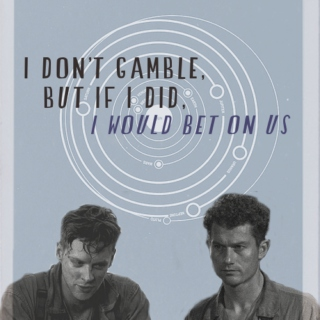 ▻ i don't gamble, but if i did, i would bet on us