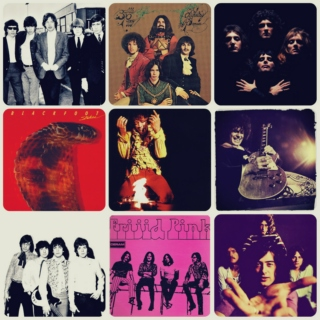 Not a typical classic rock mix