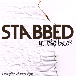 stabbed in the back