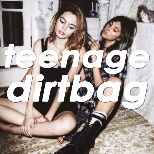 i'm just a teenage dirtbag