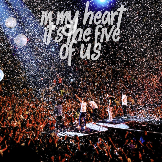 In my heart it's the five of us