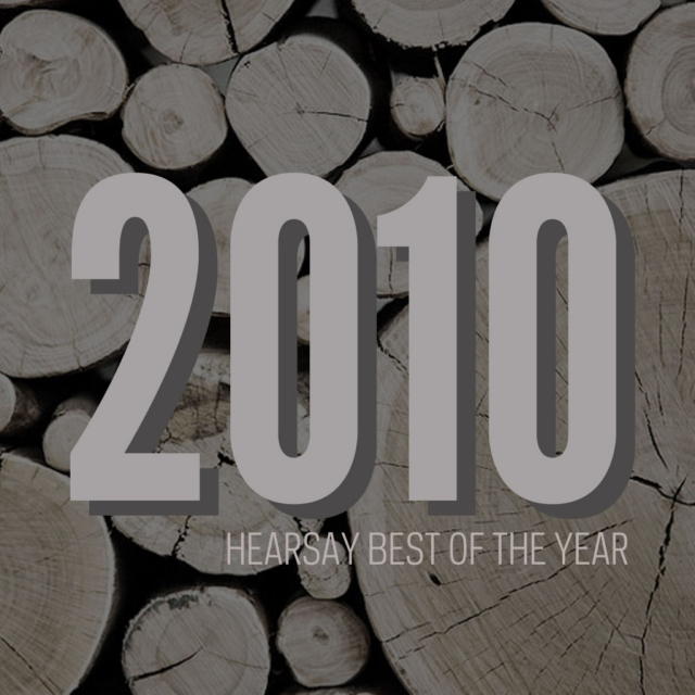 hearsay best of 2010