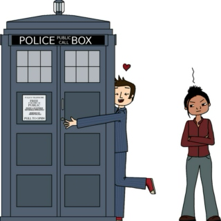 you are the tardis to my doctor