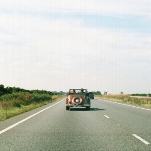 On the road, hopeless wandering