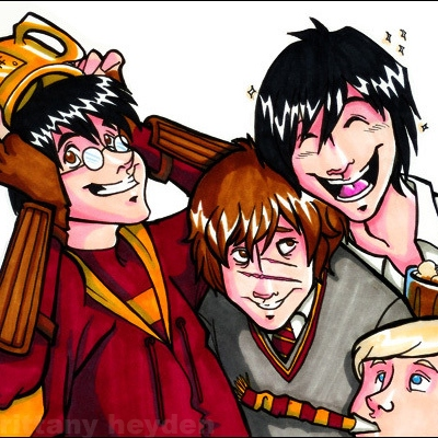 The Marauders From The Viewpoint of Remus Lupin