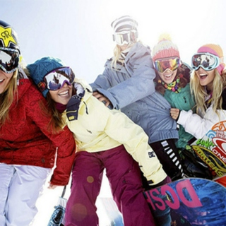 Girls who Snowboard