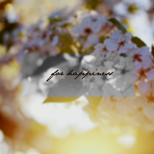 For Happiness