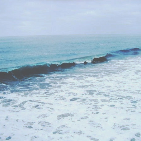 let the ocean worry about being blue