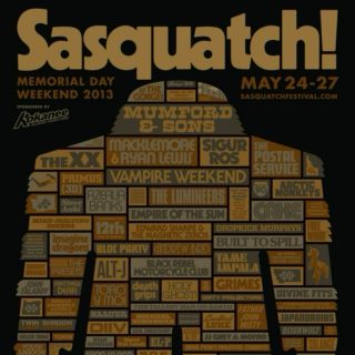 The Ultimate Sasquatch 2013 Mix