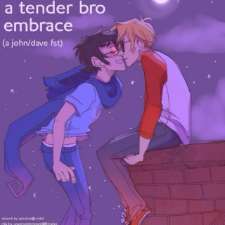 a tender bro embrace (a johndave fst)