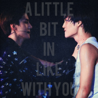 a little bit in like with you