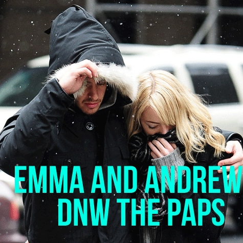 Emma and Andrew DNW the paps