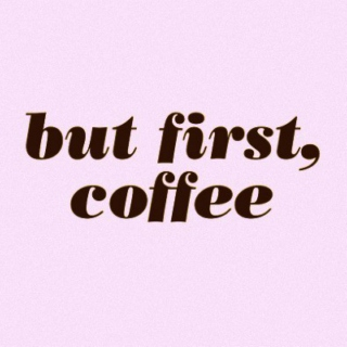January 2013 : but first, coffee