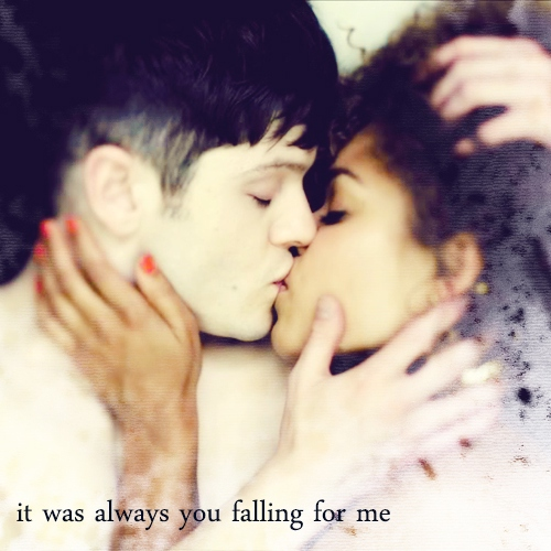 it was always you falling for me
