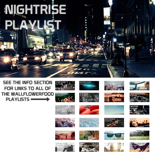 Nightrise Playlist - An Indie Dance, Nu Disco, and Disco Dance Playlist