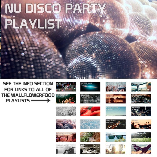 Nu Disco Party Playlist - A Nu Disco, Disco House, and French House Playlist
