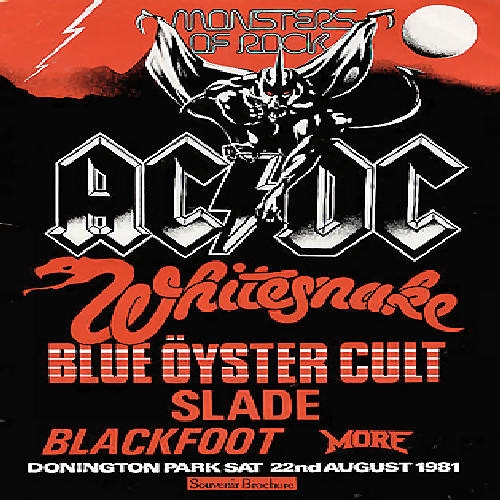 Monsters of Rock Festival 1981
