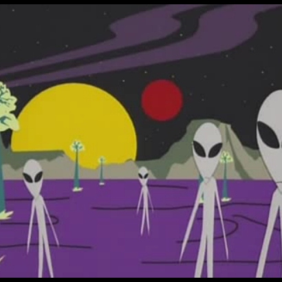 DOWN WITH ALIENS
