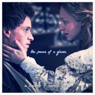the power of a glance: a marius & cosette mix