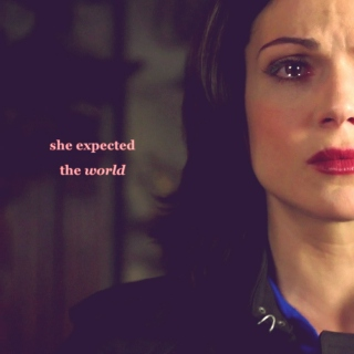she expected the world