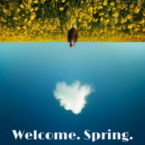 Welcome Spring 2013