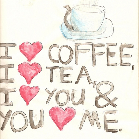 ♡falling in love at a coffee shop♡