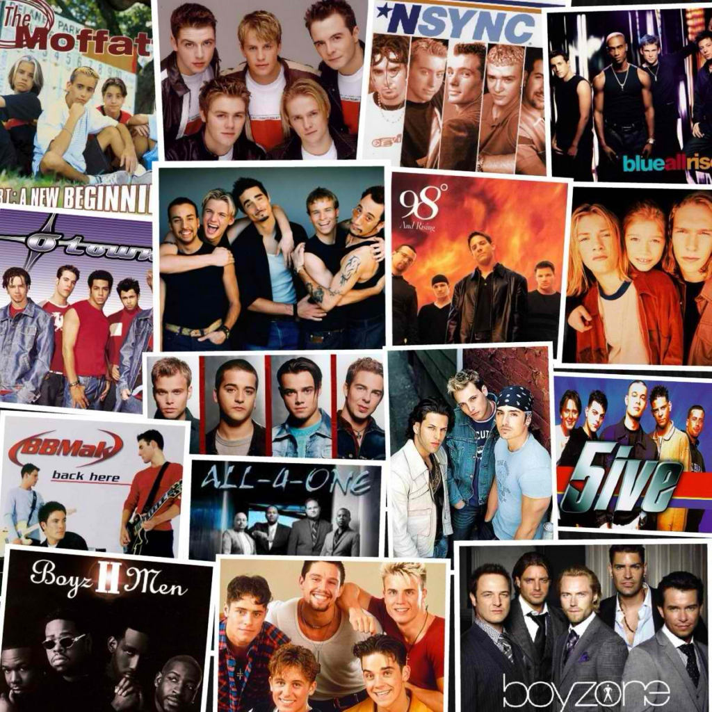 bands entertainment boy popsugar nsync evolution the of