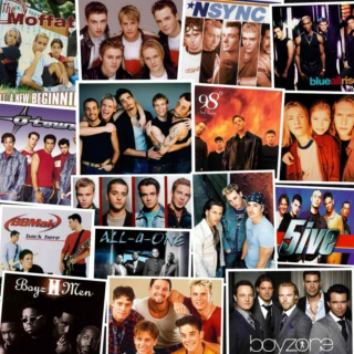 Boy Bands of the 90's