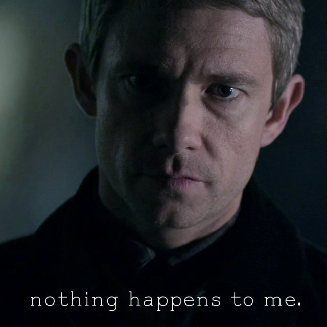 Nothing happens to me.